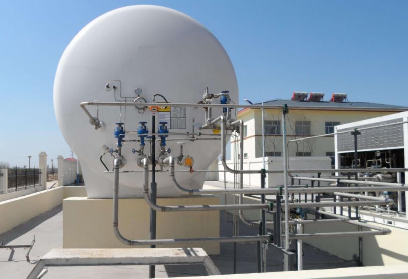 湖北LNG液化储气罐